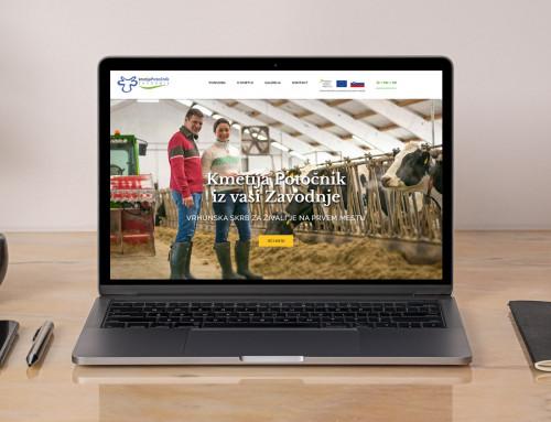 Spletna stran – Kmetija Potočnik