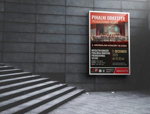 Pihalni orkester premogovnika Velenje – Grafična podoba koncertnega abonmaja 2019/20