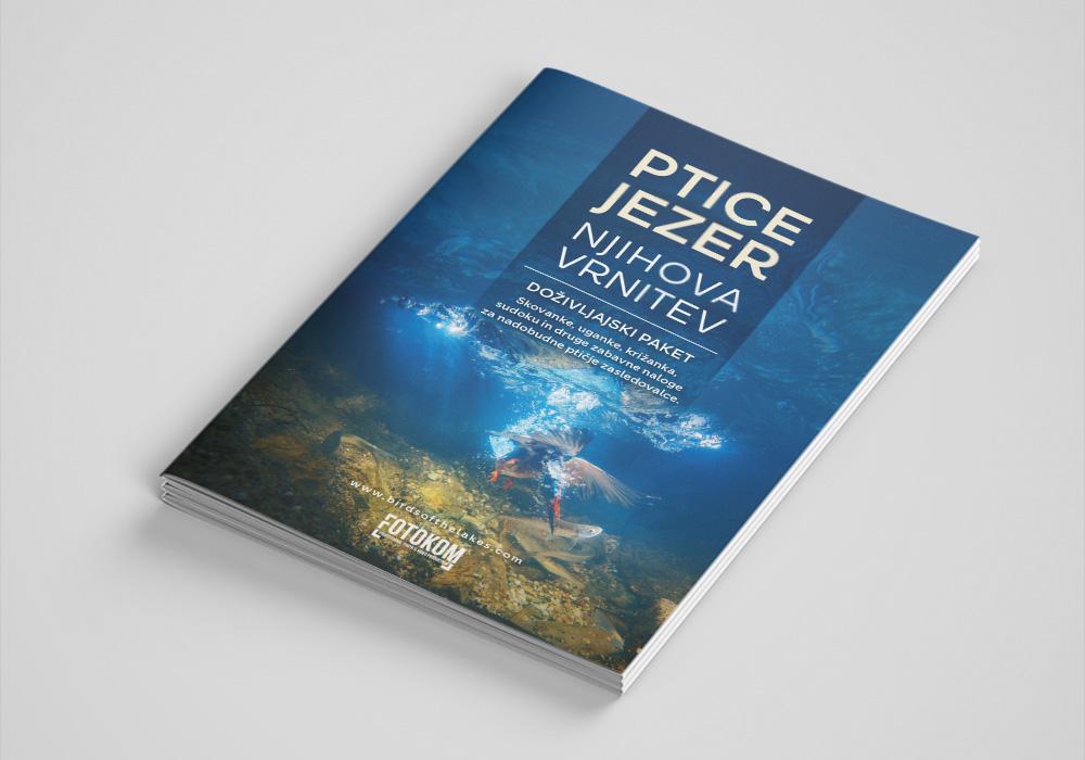 Brošura A5, Ptice jezer, njihova vrnitev