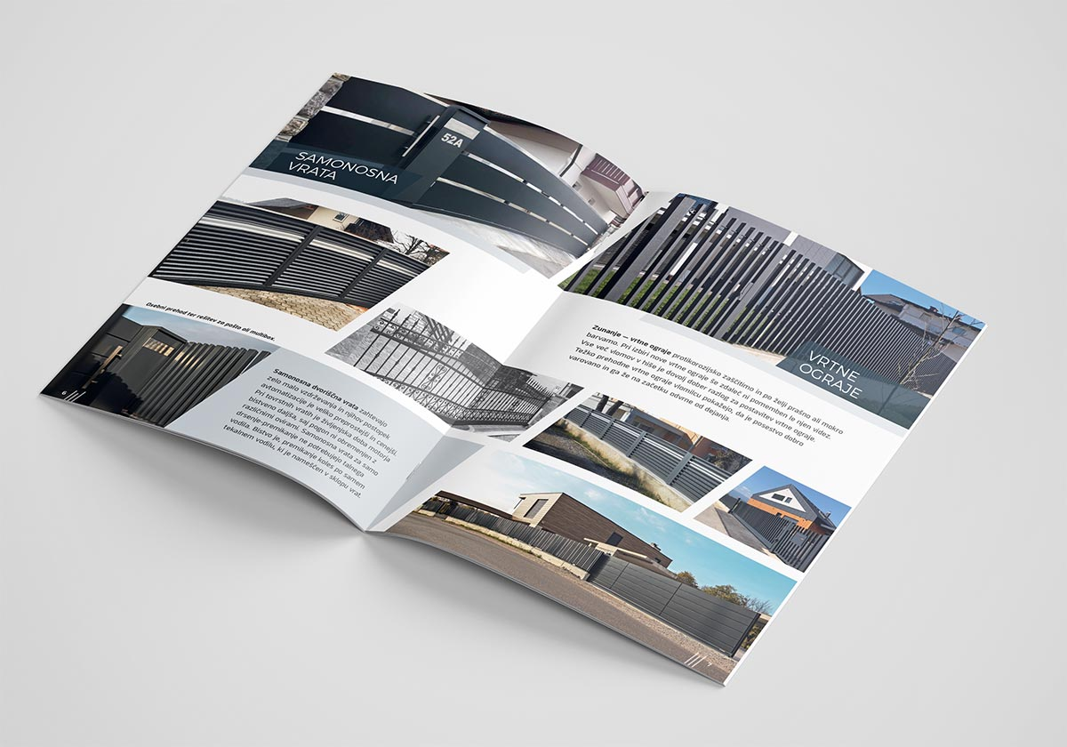 Žugič ograje - Katalog A4
