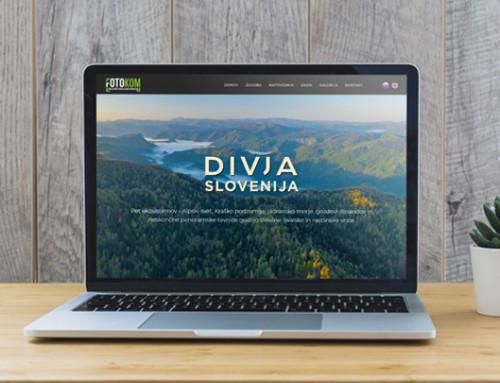 Spletna predstavitev – Divja Slovenija