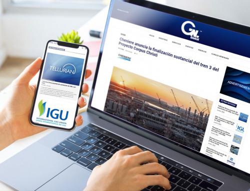 Spletna stran – GNL GLOBAL