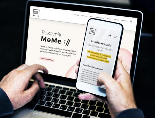 Spletna stran – PROBOX